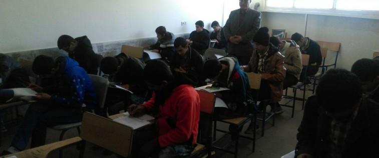 برگزاری آزمون مسابقه علمی آینده سازان اتحادیه تربت حیدریه (به روایت تصویر)