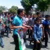 حضور پرشور انجمنی های قوچان در راهپیمایی روز قدس (به روایت تصویر)