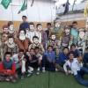 حضور انجمنی های فریمان در اردوی «زائران مهر» آستان قدس رضوی
