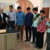 بازدید انجمنی های گناباد به مناسبت روز خبرنگار از خبرگزاری جمهوری اسلامی