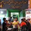 برپایی ایستگاه صلواتی به مناسبت عید غدیر توسط انجمنی های کاشمر