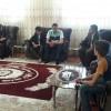 دیدار انجمنی های فریمان با خانواده های شهدا به مناسبت عید سعید غدیر