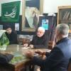نشست صمیمی مسئولین بسیج دانش آموزی و اتحادیه انجمن های اسلامی دانش آموزان شهرستان گناباد