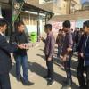 برگزاری مراسم عزاداری ویژه ایام آخر ماه صفر به همت انجمنی های آموزشگاه متوسطه اول آیت الله رفسنجانی تربت حیدریه