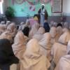 برگزاری جشن وحدت توسط انجمن اسلامی مدرسه دخترانه متوسطه اول دکتر ماندگار شهرستان باخرز