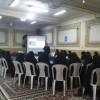 اعضای قرارگاه مرکزی خواهران مشهد در شب یلدا دور کرسی «علم و ایمان» جمع شدند