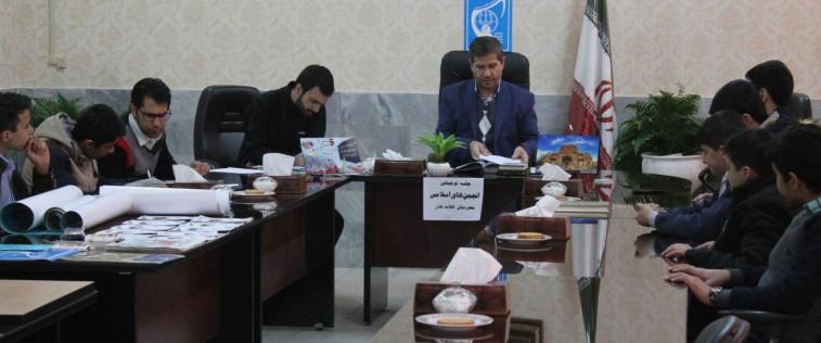 برگزاری قرارگاه مرکزی انجمن های اسلامی شهرستان کلات با موضوع : «نمایشگاه های مدرسه انقلاب»