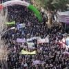 حضور پرشور انجمنی های تربت حیدریه در راهپیمایی ۲۲ بهمن به روایت تصویر