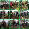 شرکت انجمنی های درگزی در مراسم «جشن درختکاری»