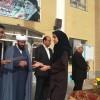 برگزاری صبحگاه کوثر همراه با اهداء جوایز رتبه های کشوری آزمون علمی آینده سازان در دبیرستان محمودیه شهرستان گناباد