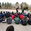 تبیین برنامه خادمیاران نوجوان در انجمن اسلامی دبیرستان آزادگان شهرستان خواف