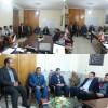 دیدار مسئول اتحادیه کلات با رئیس بنیاد شهید این شهرستان به مناسبت بزرگداشت روز شهدا
