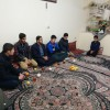 عیادت جمعی ازمسئولین انجمنهای اسلامی مدارس فریمان از همسنگر انجمنی
