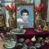 دیدار نوروزی انجمنی های دبیرستان شهید جباریان با خانواده شهید دانش آموز