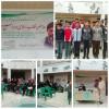 گرامیداشت روز هنر و انقلاب اسلامی با اجرای برنامه گروه سرود توسط انجمنی های آموزشگاه مودودی تایباد