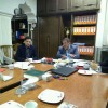 دیدار مسئول اتحادیه استان با معاونت پشتیبانی و توسعه منابع انسانی آموزش و پرورش خراسان رضوی