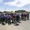 به مناسبت هفته معلم صورت گرفت : «حضور انجمنی های فریمان در همایش دوچرخه سواری»