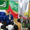 حضور نماینده مجلس شورای اسلامی در جشن هیأت انصارالمهدی(عج)انجمنی های فریمان