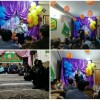 به مناسبت نیمه شعبان صورت گرفت : «برپایی جشن و ایستگاه صلواتی توسط انجمنی های قوچان»