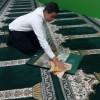 غبارروبی مساجد به همت انجمنی های منطقه کوهسرخ