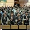 حضور مسئول اتحادیه انجمن های اسلامی دانش آموزان در مراسم تحلیف بسیج دانش آموزی خراسان رضوی