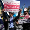 حضور انجمنی های آموزشگاه دکتر شریعتی شهرستان قوچان در راهپیمایی ۱۳ آبان به روایت تصویر