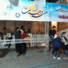 برپایی ایستگاه صلواتی به مناسبت میلاد پیامبراکرم(ص) توسط هیأت انصارالمهدی(عج) اتحادیه مشهد