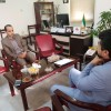 دیدار صمیمی مسئول اتحادیه استان با مدیرکل امور اجتماعی و فرهنگی استانداری