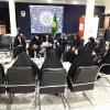 شرکت انجمنی های متوسطه اول خواهران مشهد در پاتوق «کرسی اندیشه»