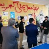 بازدید مدیر دفتر برنامه ریزی و ارزیابی دفتر مرکزی اتحادیه کشور از نمایشگاه های مدرسه انقلاب شهرستان فریمان