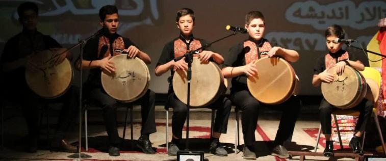 مراسم «اختتامیه جشنواره مدرسه انقلاب» تربت حیدریه با حضور دبیرکل اتحادیه کشور