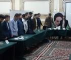 برگزاری قرارگاه مرکزی برادران مشهد با موضوع تحقق بیانیه گام دوم