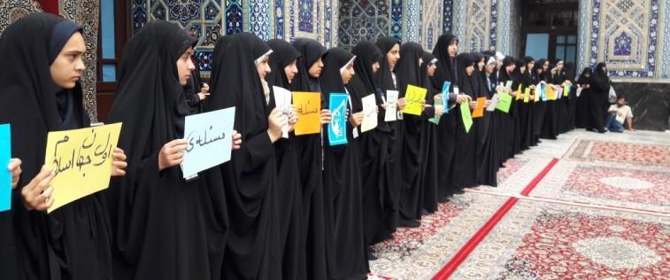 حضور متفاوت انجمنی های مشهد در راهپیمایی روز قدس