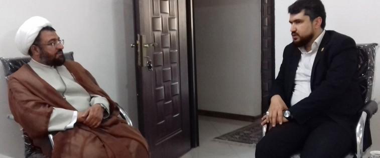 دیدار مسئول اتحادیه استان با مسئول جدید شورای سیاستگذاری ائمه جمعه استان خراسان رضوی