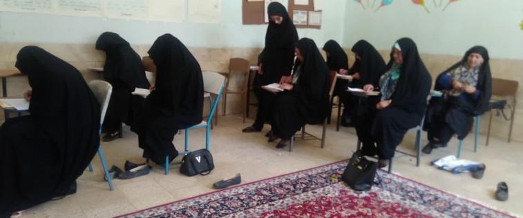 برگزاری امتحانات سواد آموری توسط اتحادیه خواف
