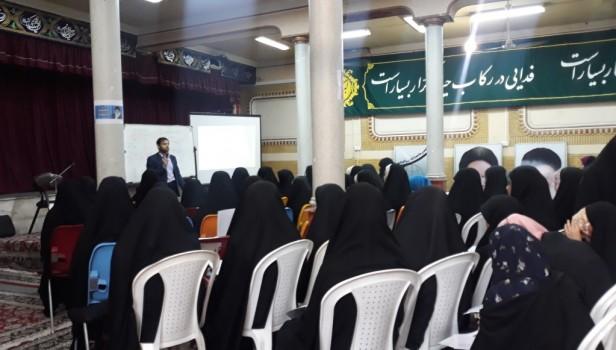 برپایی کارگاه چهل سالگی انقلاب ویژه اعضای طرح تابستانه خواهران مشهد