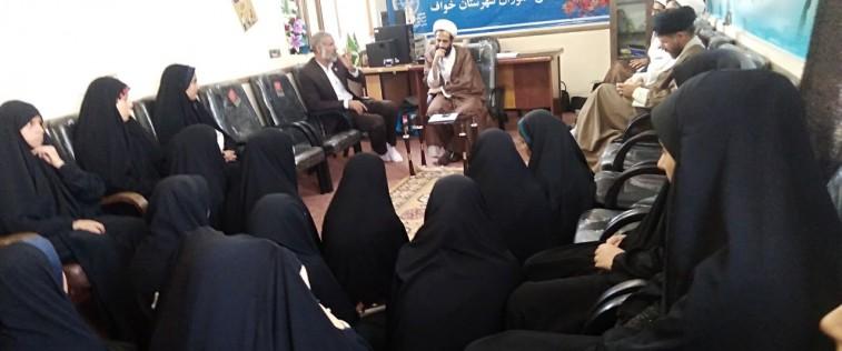 حضور مدیرکل تبلیغات اسلامی استان در جمع انجمنی های خواف