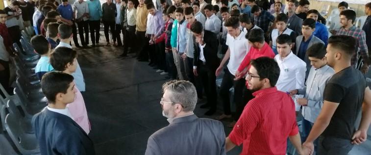 برگزاری اردوی آموزشی- تشکیلاتی طلایه داران فردا ویژه انجمنی های مدارس پسرانه استان + گزارش تصویری