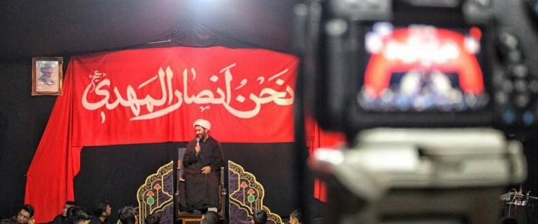 مراسم عزاداری دهه اول محرم توسط هیأت انصارالمهدی(عج) اتحادیه تربت حیدریه در حال برگزاریست