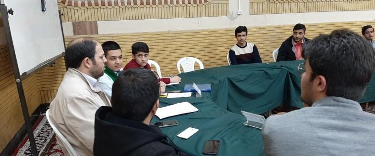برگزاری قرارگاه مرکزی برادران مشهد