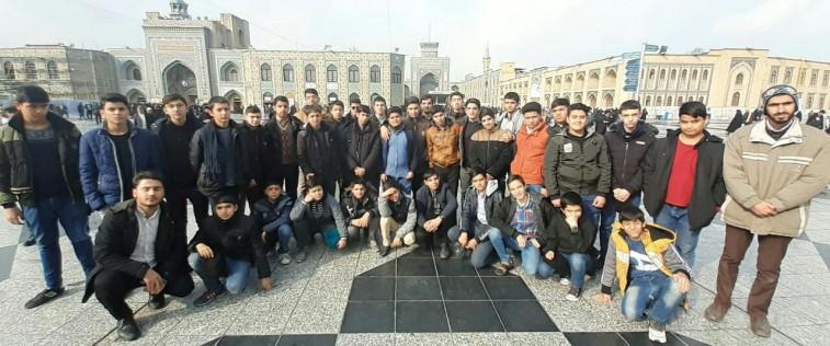 شرکت انجمنی های قوچان در اردوی زیارتی- تفریحی مشهد مقدس