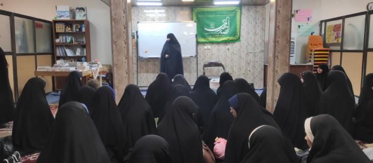 برگزاری دومین جلسه هیأت هفتگی خواهران مشهد