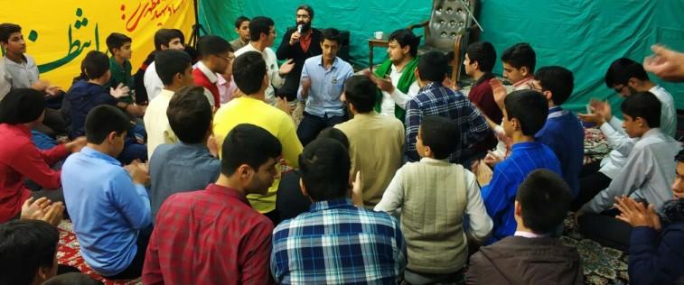 برگزاری اولین جلسه هیأت هفتگی برادران مشهد به مناسبت میلاد امام حسن عسگری