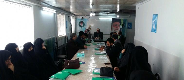 برگزاری نشست آموزشی- تشکیلاتی فصل پاییز شبکه پشتیبان اتحادیه در شهرستان کاشمر