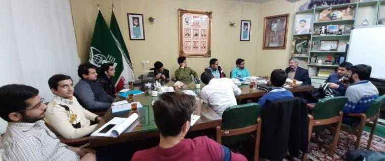 برگزاری قرارگاه محوری برادران مشهد با موضوع مدیریت تشکلی و برنامه ریزی فرهنگی