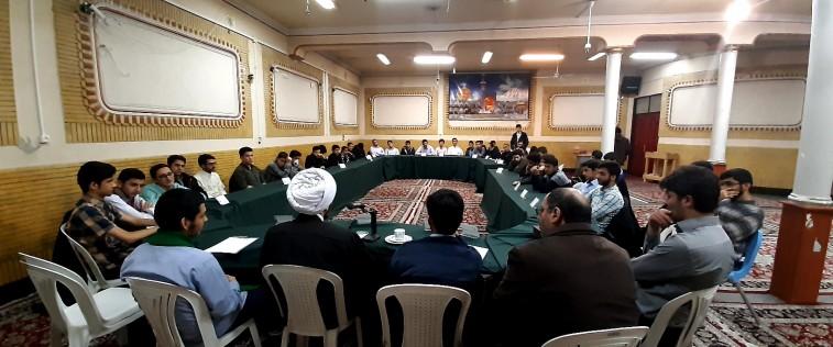 برگزاری قرارگاه مرکزی برادران مشهد با حضور ریاست سازمان فرهنگی آستان قدس رضوی