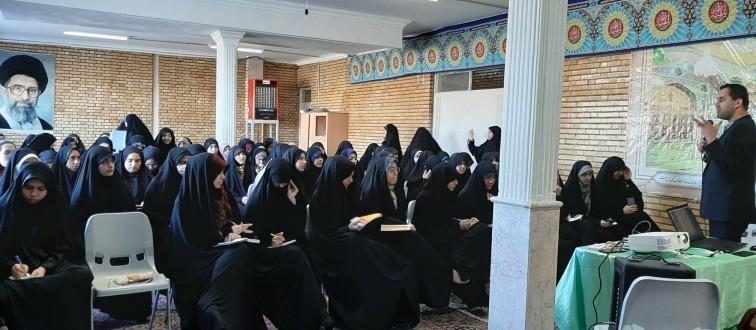 برگزاری اردوی ستادهای دهه فجر انجمن های اسلامی مدارس دخترانه مشهد