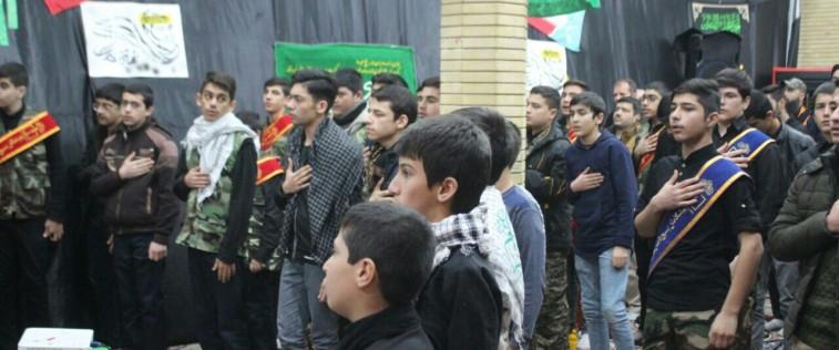 شرکت انجمنی های قوچان در مراسم شهادت حضرت زهرا(س) و گرامیداشت شهید سلیمانی