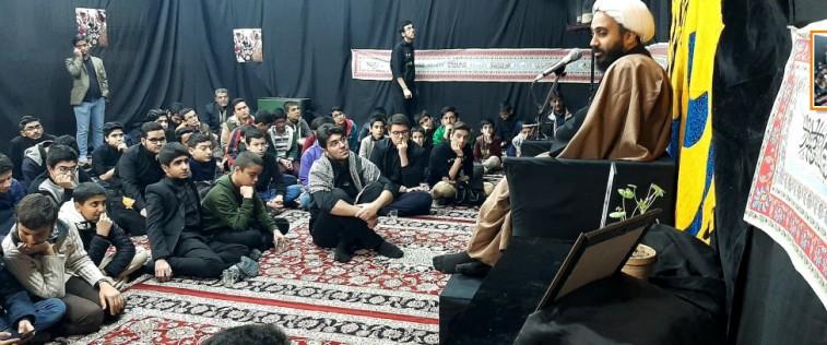 برگزاری ویژه برنامه شهادت حضرت زهرا(س) و پاسداشت شهید سلیمانی توسط انجمنی های مشهد