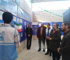 بازدید مشاور دبیرکل از نمایشگاه «مدرسه انقلاب» مدارس نیشابور